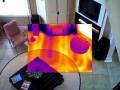 Radiant heat in a slab floor