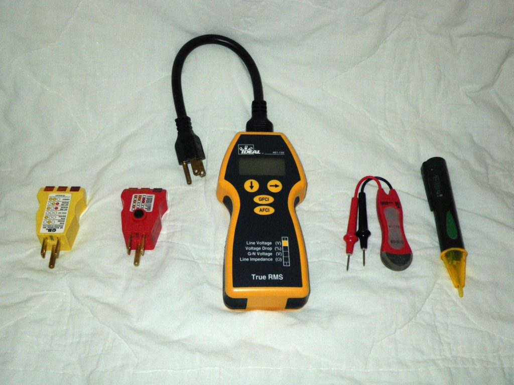 Photo of electric circuit testers