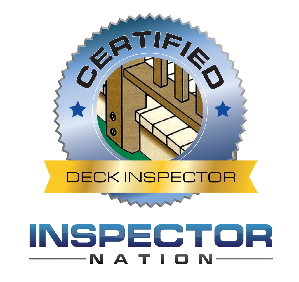 Certified deck inspector icon